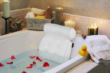 Spa Bath Set Up At Home